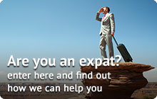 Are you an expat? Click here and find out how we can help you